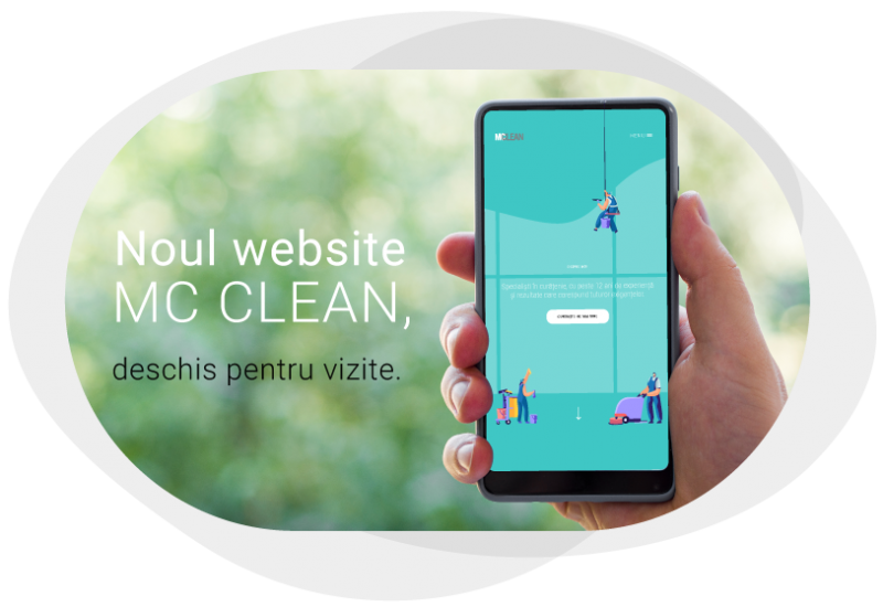 Am lansat noul website MC CLEAN!